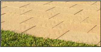 Sealer is used for concrete pavers