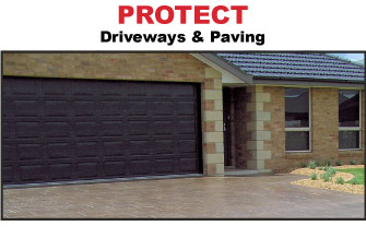 Wonderbond Protects Driveways and Paving
